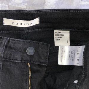 Fashion Nova Jeans - NEW black stretchy high rise distressed jeans 1